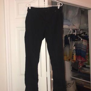 Hurley dry-fit black pants